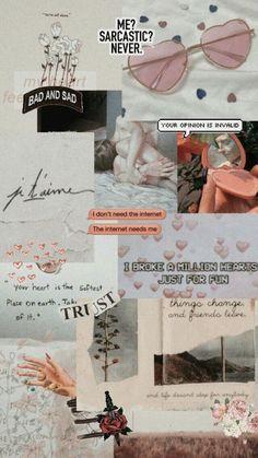 "Edition: ""Bad and Sad"" Aesthetic Pastel Wallpaper, Aesthetic Backgrounds, Aesthetic Wallpapers, Iphone Wallpaper Tumblr Aesthetic, Tumblr Wallpaper, Cool Wallpaper, Wallpaper Quotes, Black Wallpaper, Lock Screen Wallpaper"