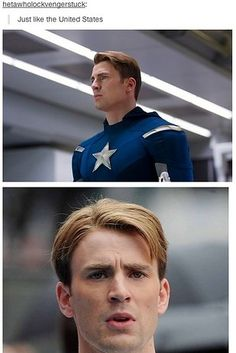 Captain America vs. Bald Eagle :D ~ In-depth character analysis: | 33 Things You'll Only Understand If You're In Fandom