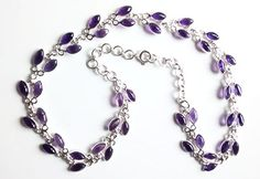 Amethyst multi stone necklace £100