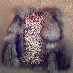 Authentic fox fur vest Authentic fox fur vest. Super cute and warm. In excellent condition. Tops