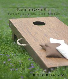 Build a Baggo Game Set - Building Plans by @BuildBasic www.build-basic.com