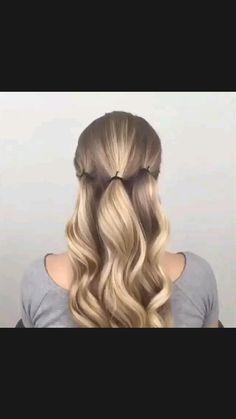 Hairdo For Long Hair, Bun Hairstyles For Long Hair, Braided Hairstyles, Easy Elegant Hairstyles, Easy Wedding Hairstyles, Updo Hairstyles Tutorials, Hairdos, Medium Hair Styles, Short Hair Styles
