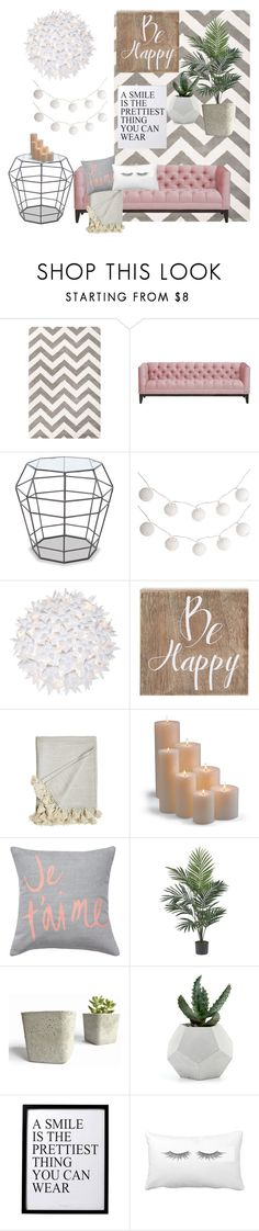 """""""Home #5"""" by peterkonijn on Polyvore featuring mode, Jaipur, Pier 1 Imports, Kartell, Belle Maison, LA CHANCE, Frontgate, Nearly Natural en 3R Studios"""
