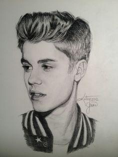 so. much. talent. #justinbieber #talent #drawing