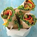 Monterey Turkey Wrap - An easy lunch or dinner you can make in your residence hall room