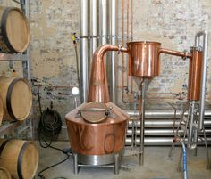 Whispers of the first new distillery in Sydney for 160 years, first reached my ears last September. For the team behind Archie Rose Distillery, the process has been years in the making. Home Distilling, Distilling Alcohol, Homemade Still, Homemade Wine, Gin Distillery, Brewery, Copper Pot Still, Copper Pots, Moonshine Still Plans