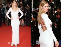 Doutzen Kroes In Calvin Klein Collection – 'Jimmy P. (Psychotherapy Of A Plains Indian)' Cannes Film Festival Premiere