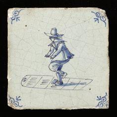 Hinkelen, 1625 - 1675 Zuid-Holland 132 mmx132 mmx11 mm