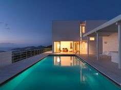 The always clean and clear architecture of Richard Meier. Bodrum Houses by Richard Meier.