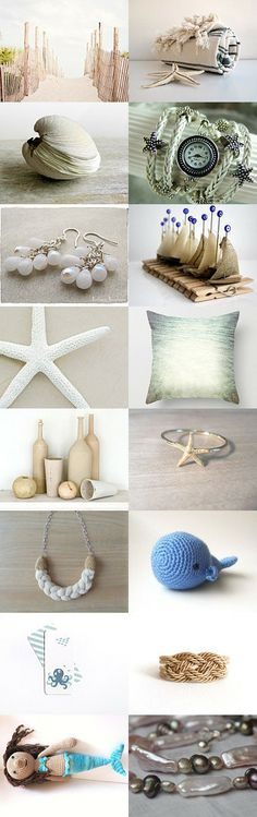 Thank you for this dreamy seaside - by Danielle van Arnhem on Etsy--Pinned with TreasuryPin.com