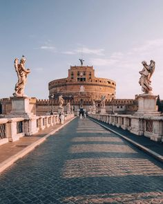 Castel Sant'Angelo, Mausoleum in Rome, Italy Visit Rome, Visit Italy, Places To Travel, Places To See, Travel Destinations, Travel Tips, Travel Goals, Rome Travel, Italy Travel