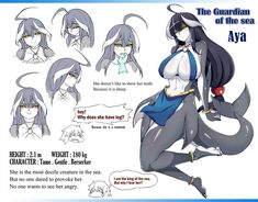 Aya by on DeviantArt Thicc Anime, Fanarts Anime, Anime Art, Monster Girl Encyclopedia, Female Monster, Anime Monsters, Monster Musume, Furry Girls, Character Sketches