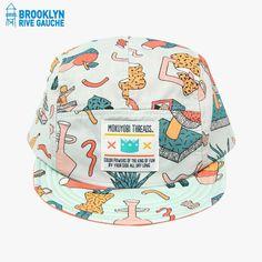 Casquette Tea Party - Mokuyobi Threads #LeBonMarche #BrooklynRiveGauche #brooklyn #newyork #ny #nyc #fashion #mode #accessories #accessoires