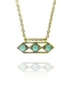 barton Aztec Necklace turquoise  #jewellery