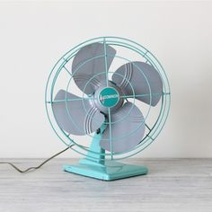 Vintage dominion tabletop fan at AMradio