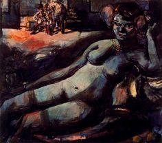 Georges Rouault: Odalisque, 1906.