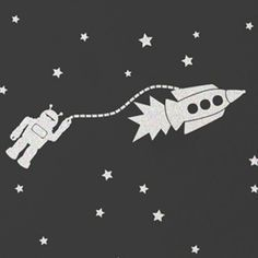 Aimee Wilder // Astrobots Thunder Wallpaper