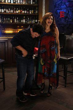Mumbai: Recording of new chat show Tanaaz Irani,Ali Asgar - Social News XYZ