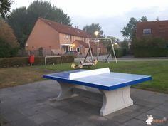 Pingpongtafel Blauw bij Speelplek in Lelystad