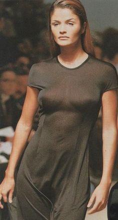 Helena Christensen - Jil Sander Spring/Summer 1993