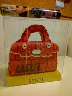 PyP catering de golosinas. Bolso de chuches para la revista Grazia. pypcateringdegolosinas@gmail.com