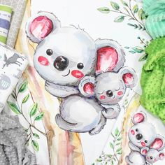 ZhukovaTextile shared a new photo on Etsy Bear Blanket, Toddler Blanket, Minky Baby Blanket, Baby Girl Blankets, Ballerina Nursery, Ballerina Baby Showers, Cute Koala Bear, Tropical Nursery, Australian Animals