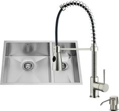 Isaac Double Bowl Kitchen Sink