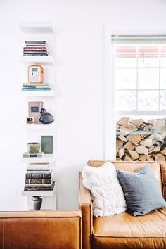 west elm - Modern Style In A Charming Red House In Vermont