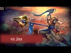Xin Zhao versus Jax - Gold Division, Ranked Game, HD