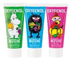Oxygenol Muumi -hammastahnat tytöille