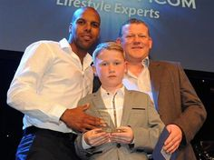 Marlon King collects his second successive Top Scorer of the Season award. May 2013. #BCFC