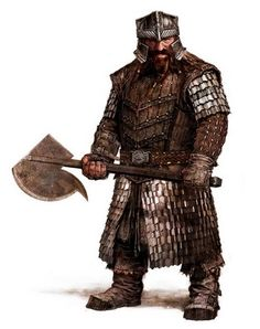 Erebor units looks very similarly as Gimli, especially Axe Swinger with Gimli's helmet and weapons. Description from forum.modding-union.com. I searched for this on bing.com/images