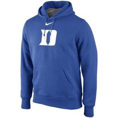 Nike Duke Blue Devils Classic Pullover Hoodie - Duke Blue (m)