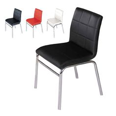 Fontana Modern Dining Room Chair in red PU. £59.95 thru Furnitureinfashion.net Dining Room Chairs, Kitchen Designs, Theater, Dinner, Modern, Red, House, Furniture, Home Decor