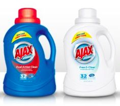 Ajax Laundry Detergent Coupon - Save $2.00 & Walmart Deal
