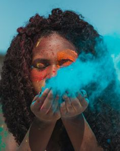 Happy Holi, 17th Birthday, Festa Party, Photo Poses, Art Photography, Photoshoot, Celebrities, Portraits, Eye
