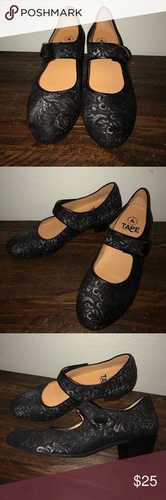 """NWOB Tape Floral Dress 2"""" Heels-9 US 40 Euro Brand new. Never been worn. No box. Been sitting on a shoe rack. I tried to clean the inside of each shoes as best as I could. Tape Shoes"""
