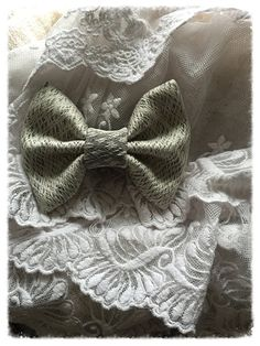 Wrap Scrap Big Bow Clip by SadiesBigBowBoutique on Etsy