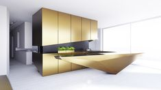 Be inspired by this gallery of amazing luxury kitchen designs, filled with beautiful kitchen cabinets, kitchen layouts, designer faucets and modern appliances.