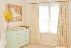Project Nursery - Girl Pastel Room Corner View
