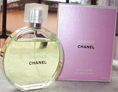 Chanel Chance Perfume. Best perfume for your wedding.