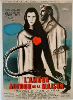 L'Amour Autour de la Maison #film #poster (1947)