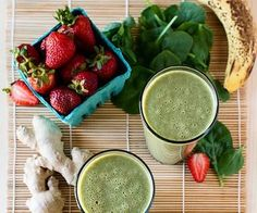 Green breakfast detox