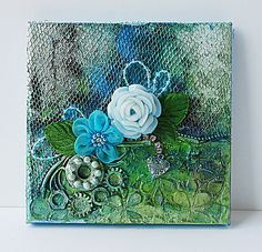 Mixed-media-canvas-with-found-objects1 by Yam_Yvonne1, via Flickr