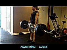 Adam King Deadlift - Cre8 Health and Fitness - 182 kg x 2 reps (BW 63kg). Click: https://www.youtube.com/watch?v=2C4MxP98_7w #fitness
