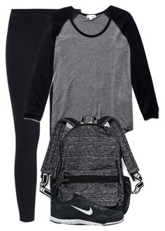 """Untitled #224"" by soleilgarnett ❤ liked on Polyvore featuring adidas Originals, Wilfred, Victoria's Secret and NIKE"