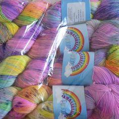 More lovely new yarn. Instagram Feed, Stitch Patterns, My Design, Knitting, How To Make, Tricot, Breien, Weaving, Stricken