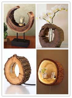 15 unglaubliche DIY-Projekte, die Sie mit alten Büchern machen können – The … 15 incredible DIY projects you can do with old books – the world disc decoration 15 incredible DIY projects you can do with old books – the world Custom Wood Furniture, Diy Furniture, Diy Crafts To Sell, Home Crafts, Art Crafts, Deco Nature, Wood Lamps, Diy Wood Projects, Wood Log Crafts