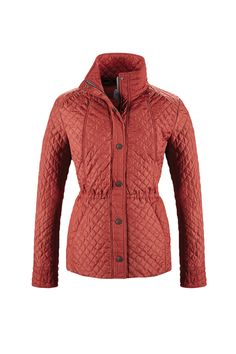 #TuesdayTreasure | We ❤ #coulours and #quilts! #bugattifashion #SS16 #womenswear #newin #jacket #quilted #red