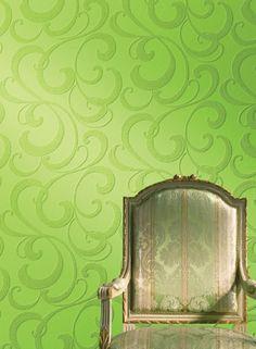 Paintable Wallpaper Ideas | Sinuous Paintable Wallpaper 13PD3 - LelandsWallpaper.com